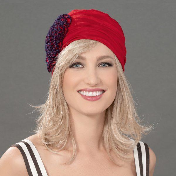 Flora Headwear by Ellen Wille in Wine Red