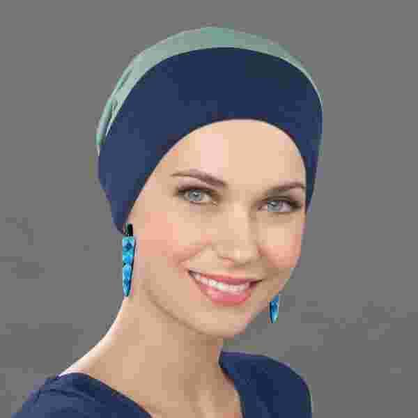 Go Headwear by Ellen Wille in Marine/Khaki