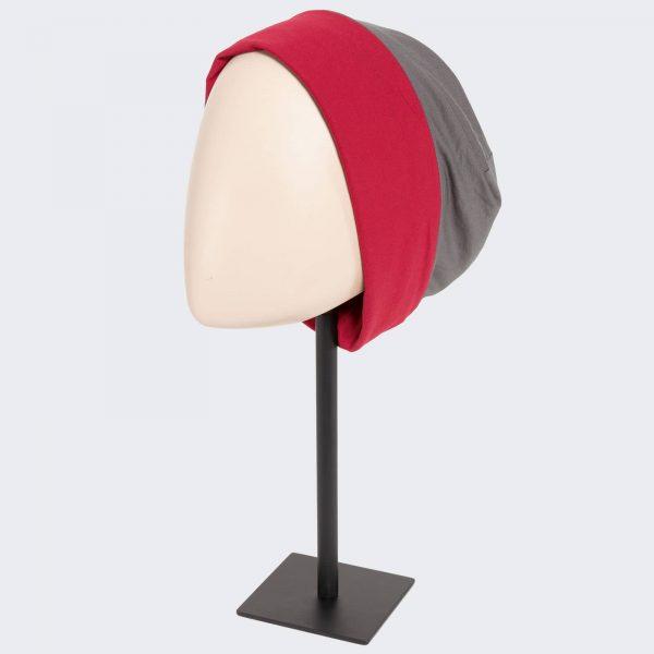 Go Headwear by Ellen Wille in Grey/Red