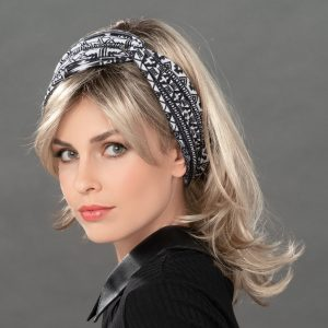 Headband Headwear By Ellen Wille In Schwarz Weiss