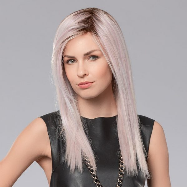 Cloud Wig by Ellen Wille Pastel Rose Rooted