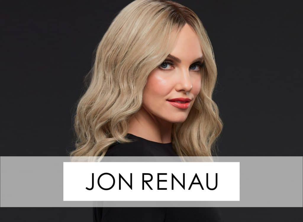 Jon Renau Wigs and Hair Toppers available at HairWeavon in Ireland