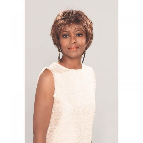 Vanity Wig by Ellen Wille | Short Wavy Synthetic Lace Front
