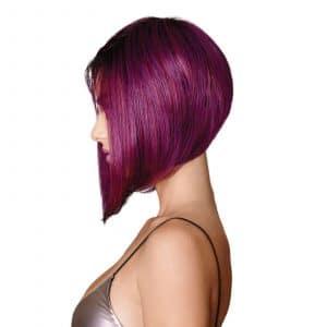 Midnight Berry Wig By HairDo | Asymmetric Bob Style