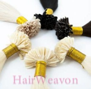 Custom U Tip Prebond Hair Extensions | Custom Colour | Custom Length