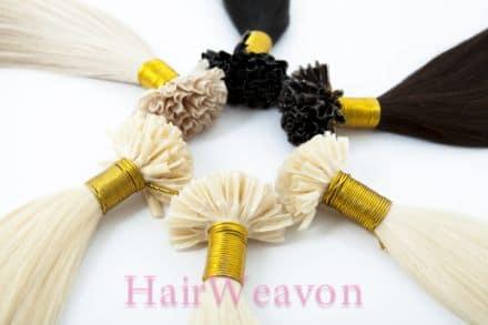 U Tip Prebond Hair Extensions