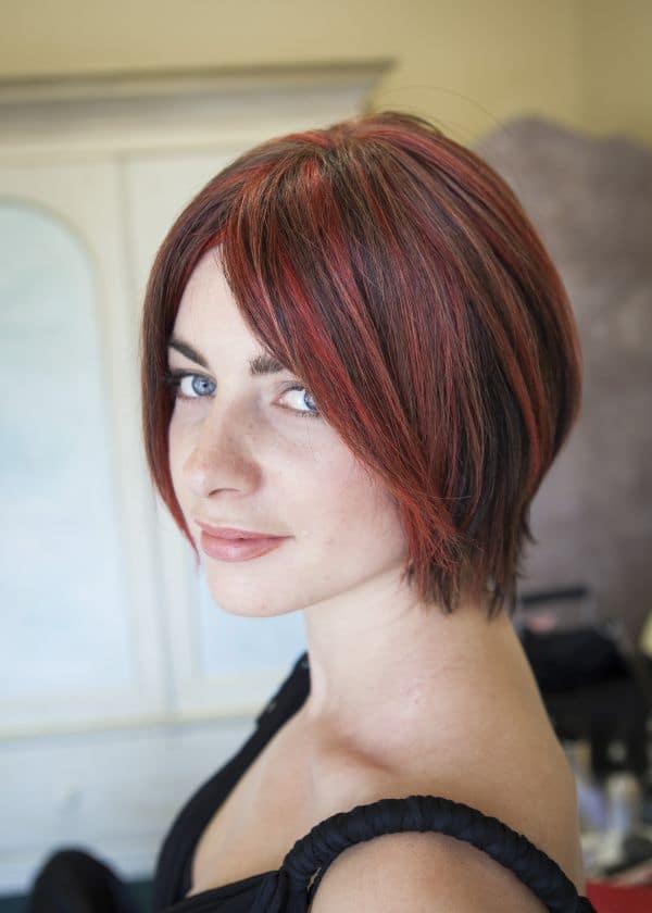 Rebecca human hair wig