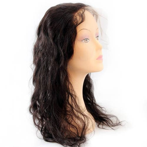 Lace Frontal with wavy remy hair