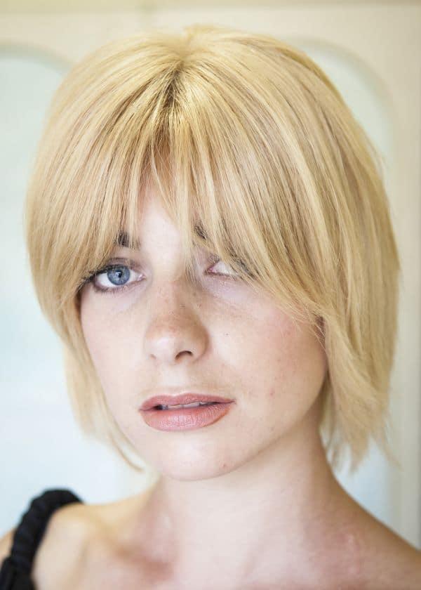 Natalie human hair wig