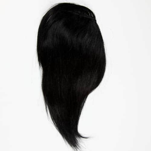 clip in side fringe hair piece