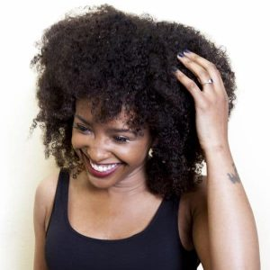 Kinky Curly Weave Hair Extensions | Human Hair | Natural Black 1B