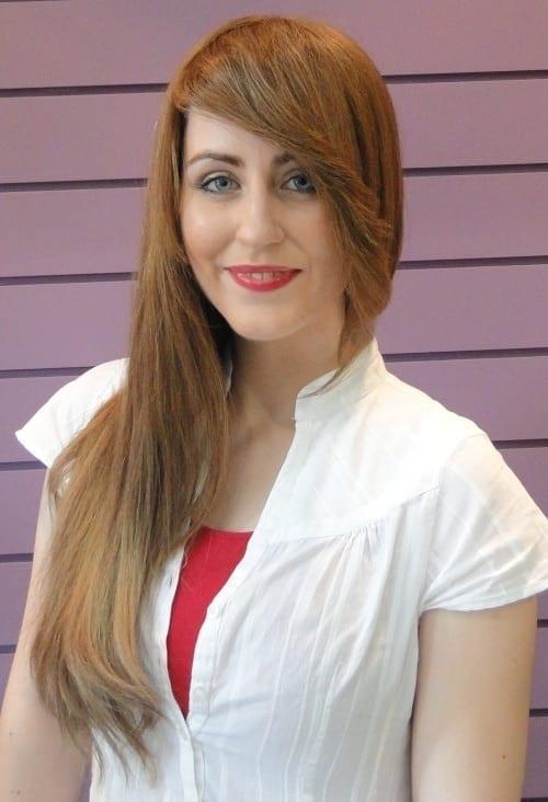 Sue human hair wig