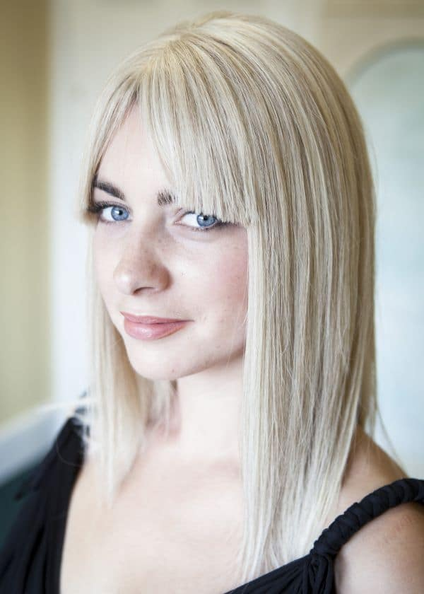 Gemma human hair wig