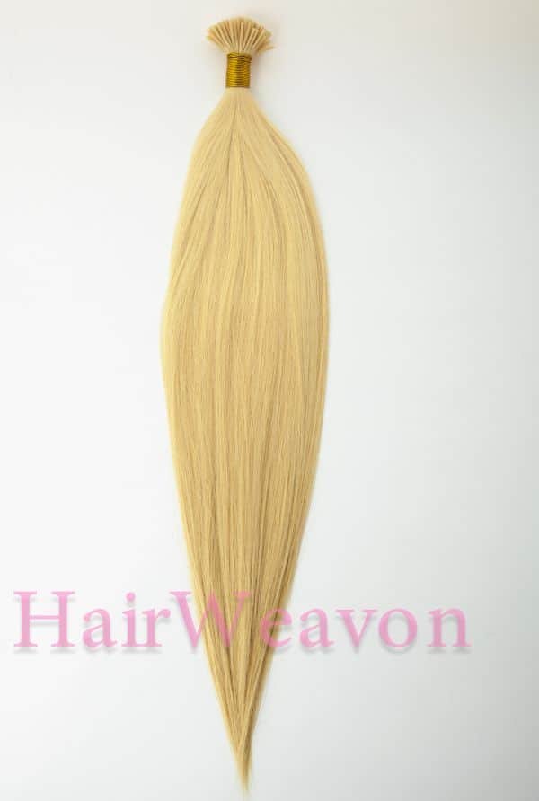 I tip human hair extensions