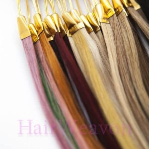 Custom U-Tip Prebond Hair Extensions