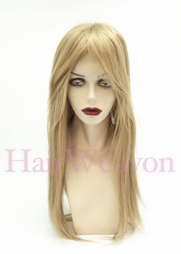 Sharon Human Hair Wig blonde