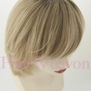 Ellen Natural Hair Wig With Roots