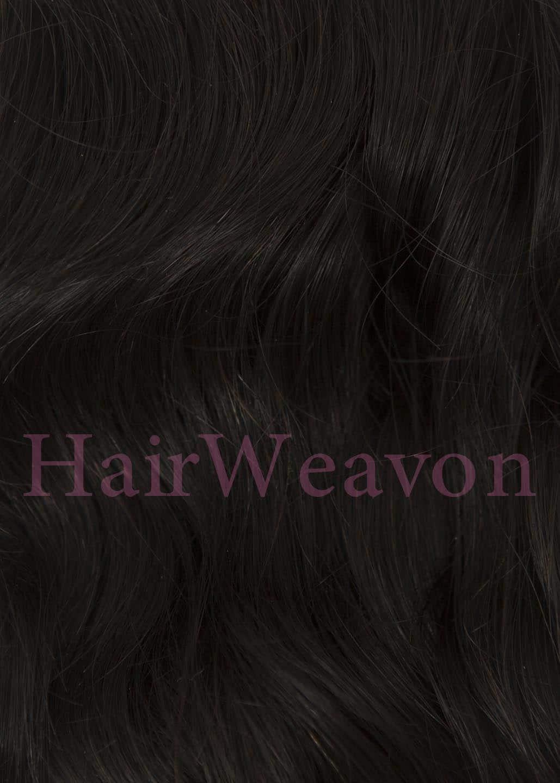 Curly Hair Closure Piece 1B