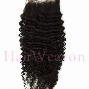 Lace Closure Kinky Curly Hair