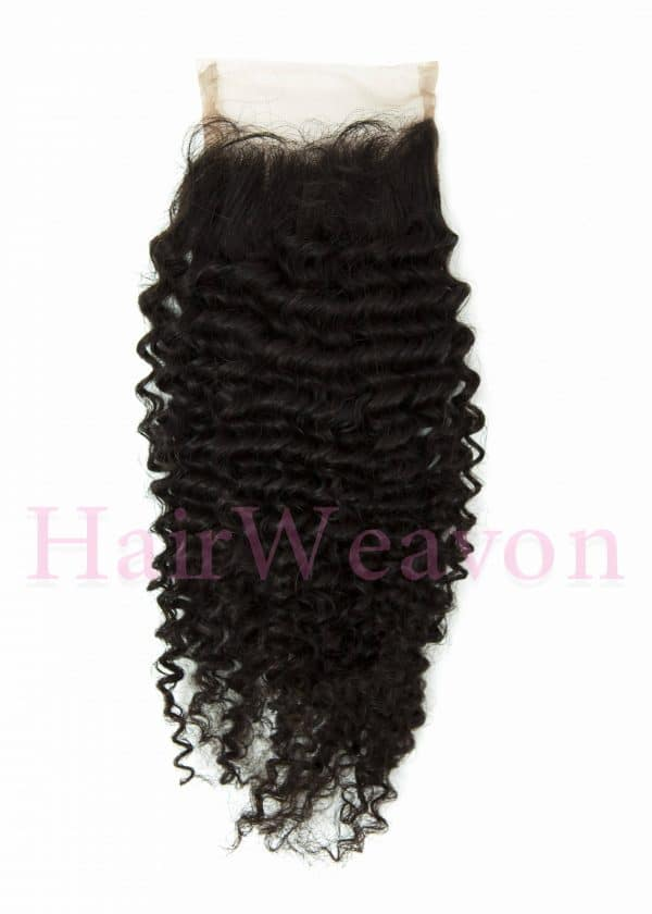 Closure Hair Piece kinky Curly