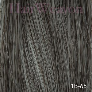 Men's Hair System Colour 1B 65% Grey | Human Hair | Customised