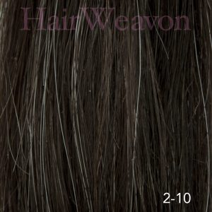 Men's Hair System Colour 2 10% Grey | Human Hair | Customised