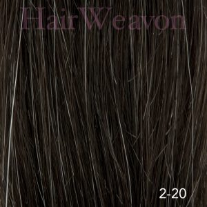 Men's Hair System Colour 2 20% Grey | Human Hair | Customised