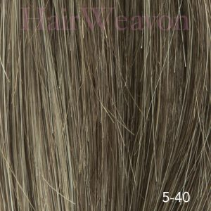 Men's Hair System Colour 5 40% Grey | Human Hair | Customised