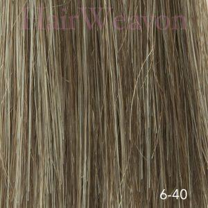 Men's Hair System Colour 6 40% Grey | Human Hair | Customised
