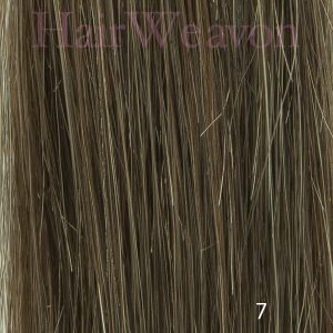 Men's Hair System Colour 7 No Grey | Human Hair | Customised