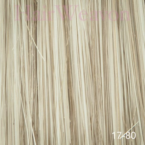 Mens Hair System colour 17 80% grey