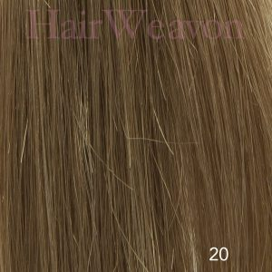 Men's Hair System Colour 20 No Grey | Human Hair | Customised
