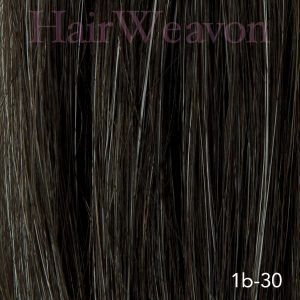 Men's Hair System Colour 1B 30% Grey | Human Hair | Customised