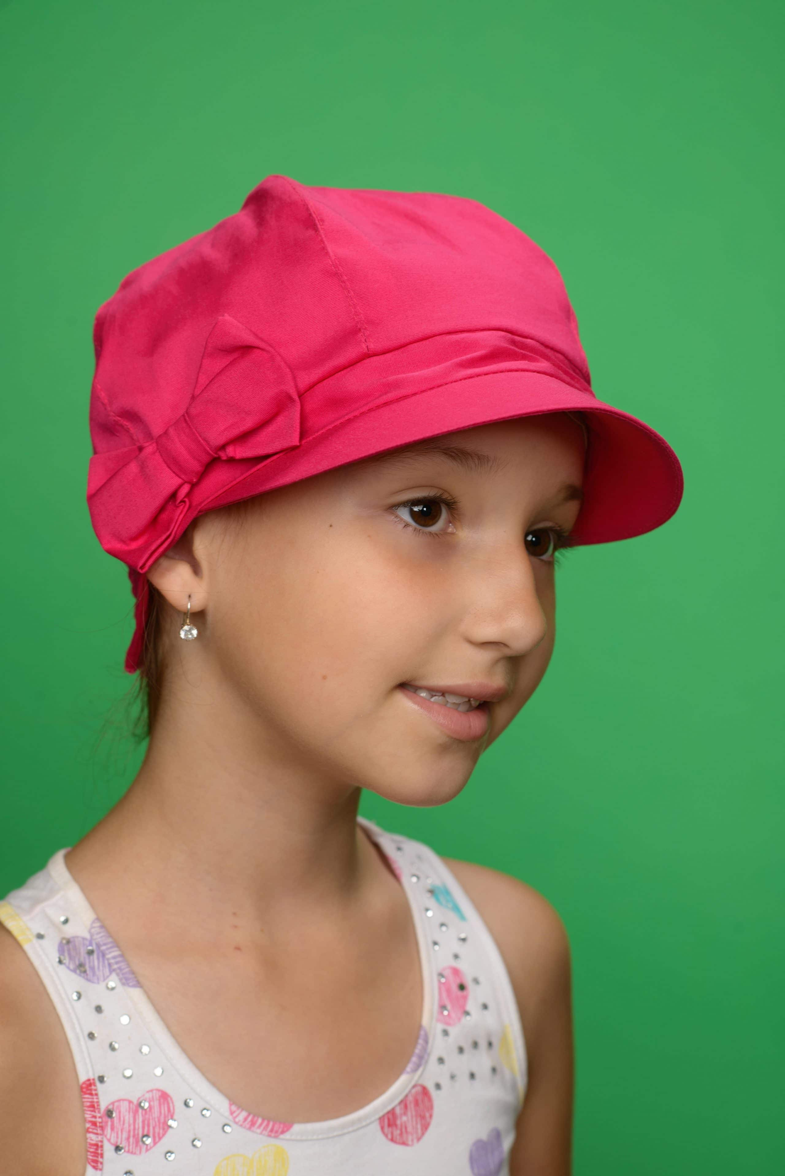 Childrens Hat Dalia Pink
