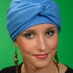 Nicole Blue Turban