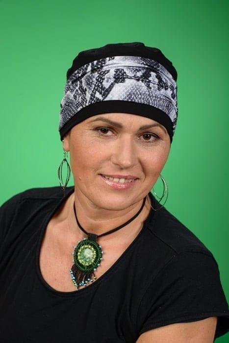 Turban Diana for alopecia
