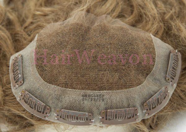Custom Topper Hair Piece type 5
