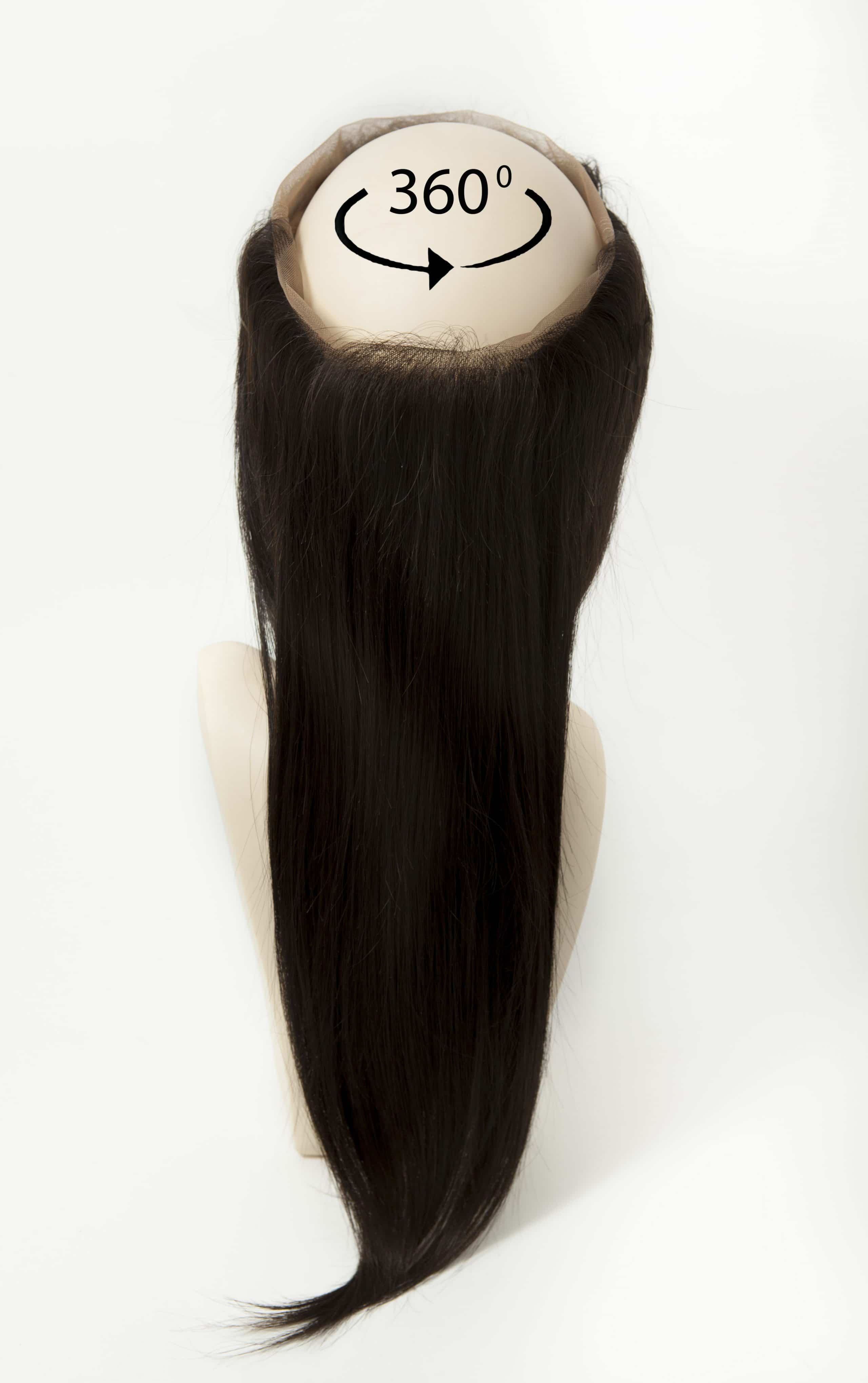 360 Frontal Hair Piece Straight