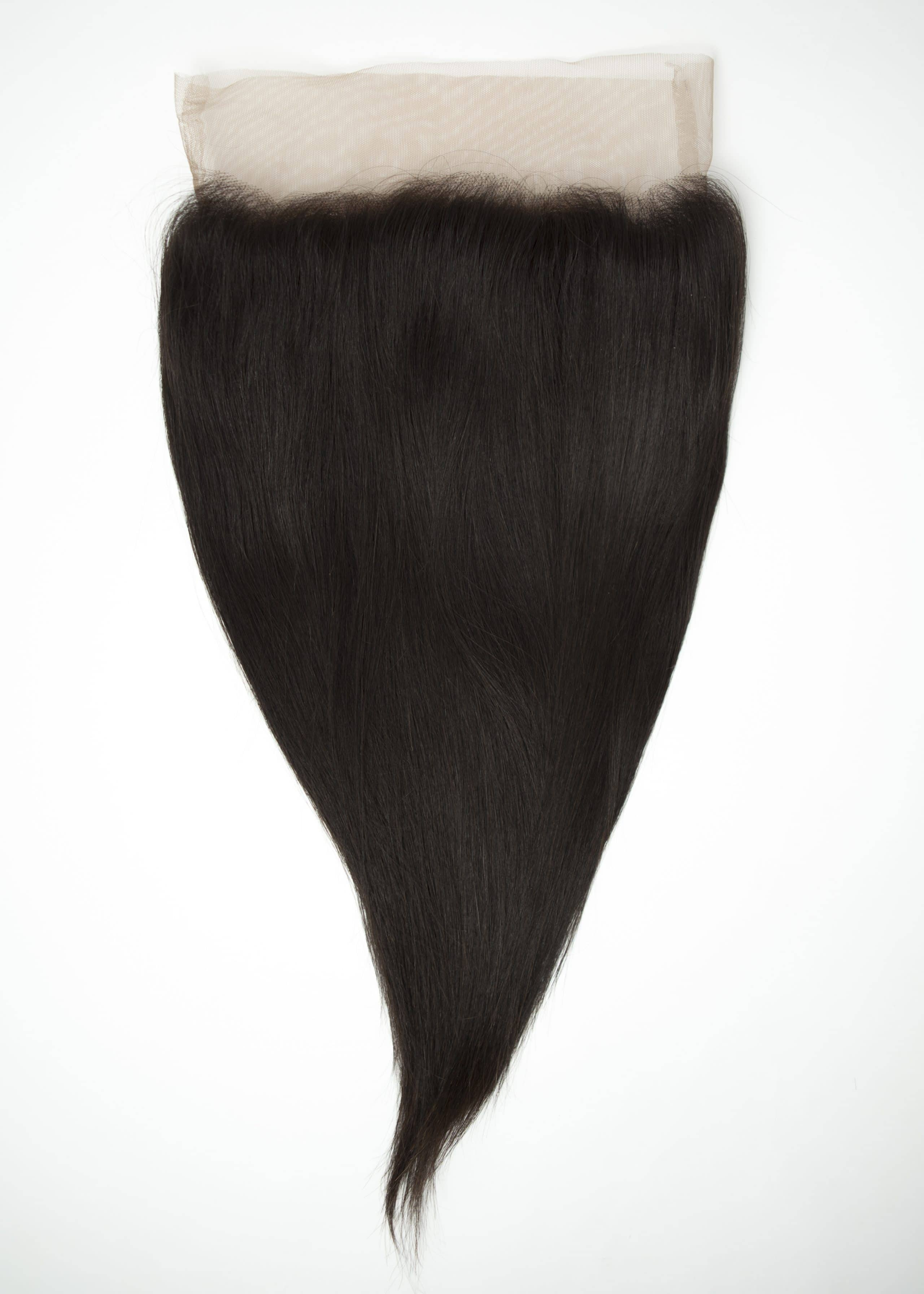 360 frontal straight human hair